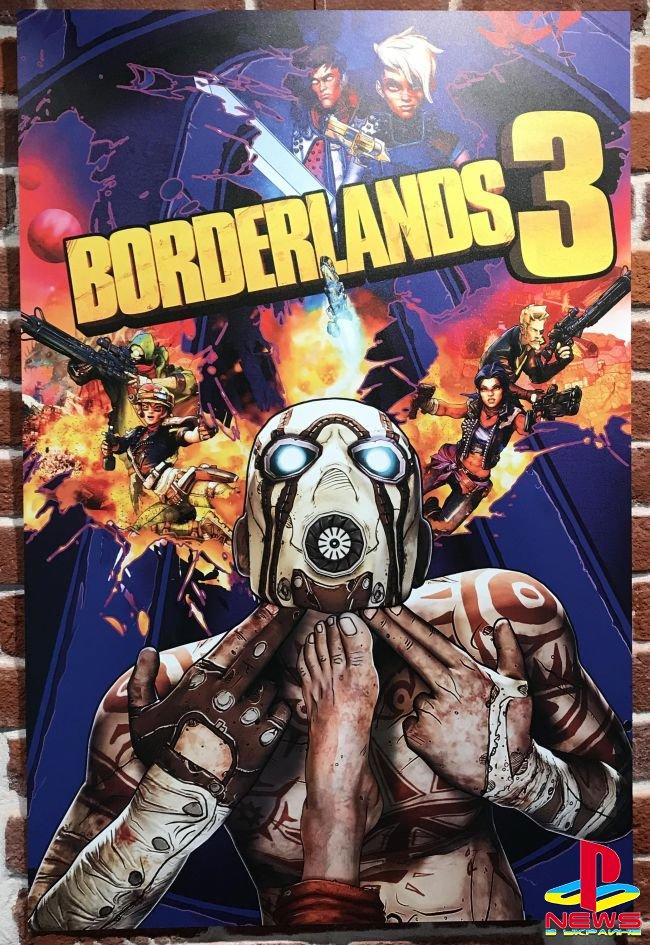 Gearbox показала отклонённые версии обложки Borderlands 3