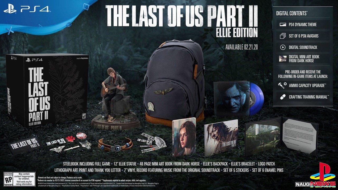 Издание «Элли» The Last of Us Part II — 249 долларов