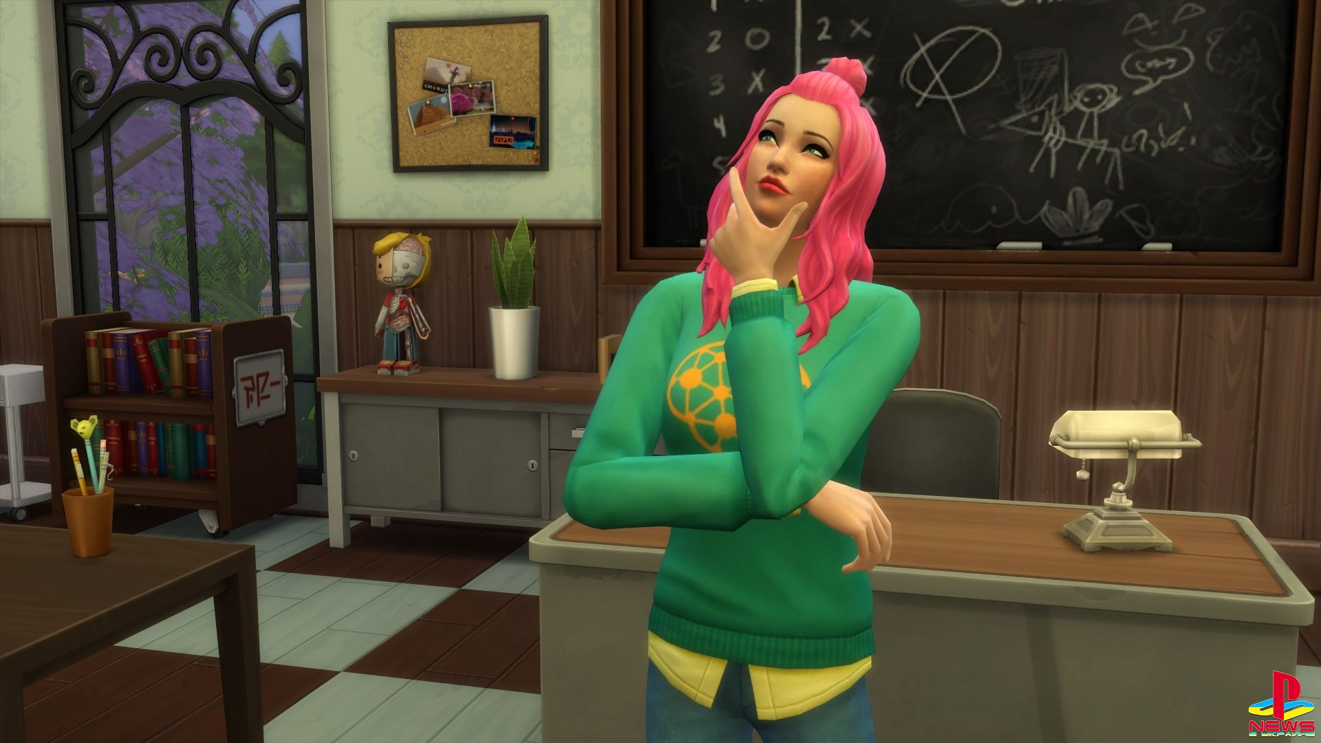 Новым расширением к The Sims 4 действительно станет Dis ...