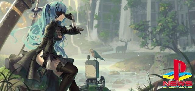 Square Enix выпустит мангу по мотивам NieR: Automata