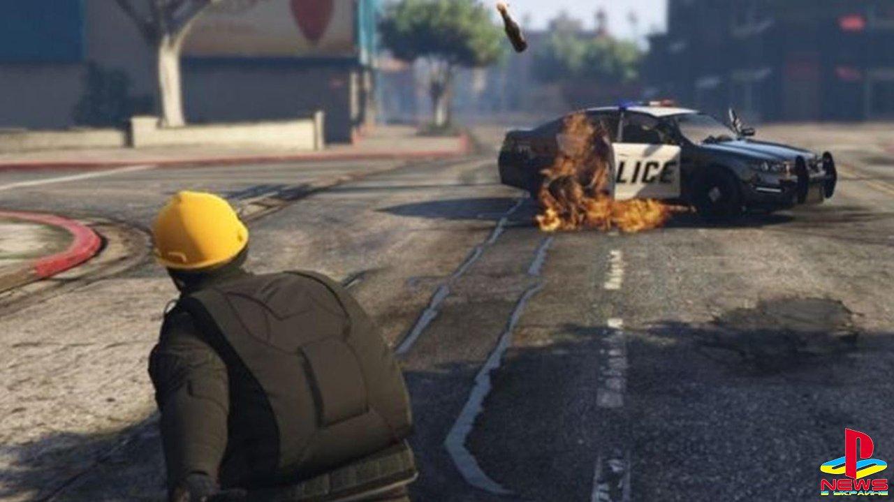 В GTA Online протестующие из Гонконга и китайцы устроил ...