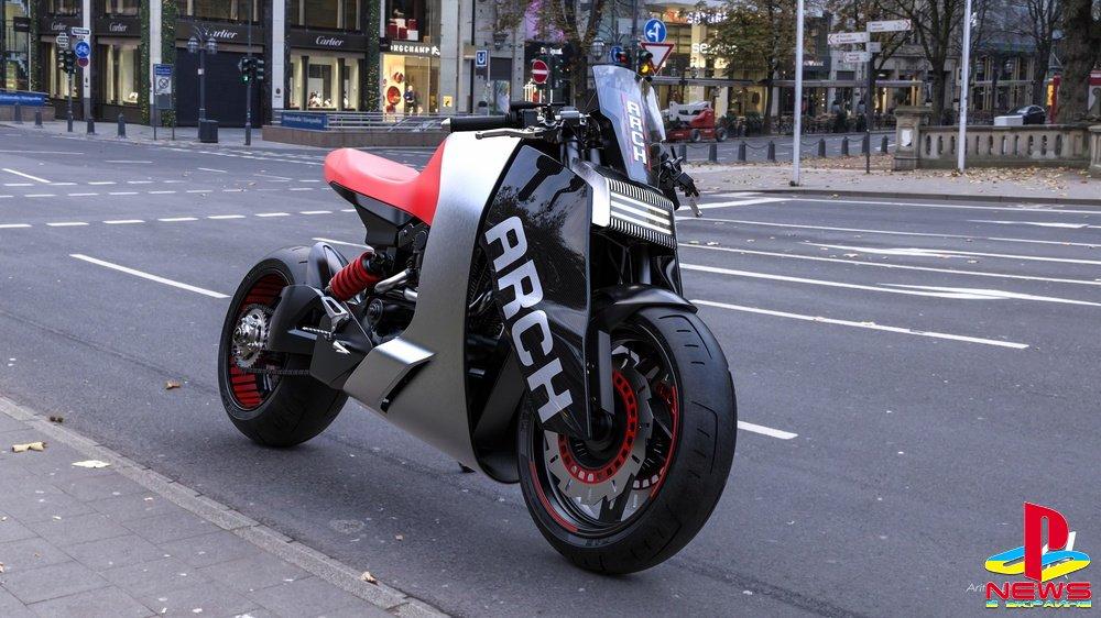 Фанат показал мотоцикл из Cyberpunk 2077 в реальности