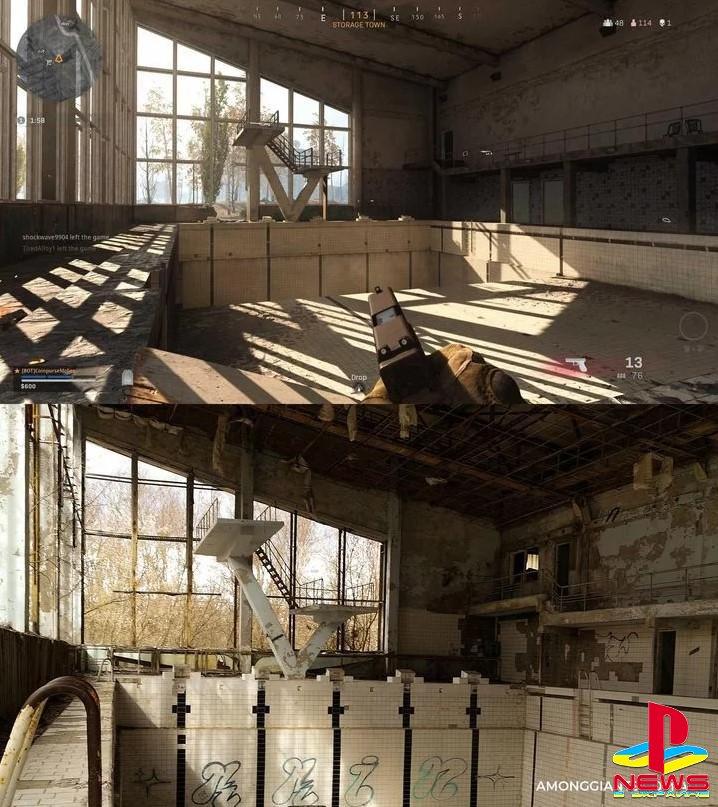 В Call of Duty: Warzone нашли локацию из Чернобыля