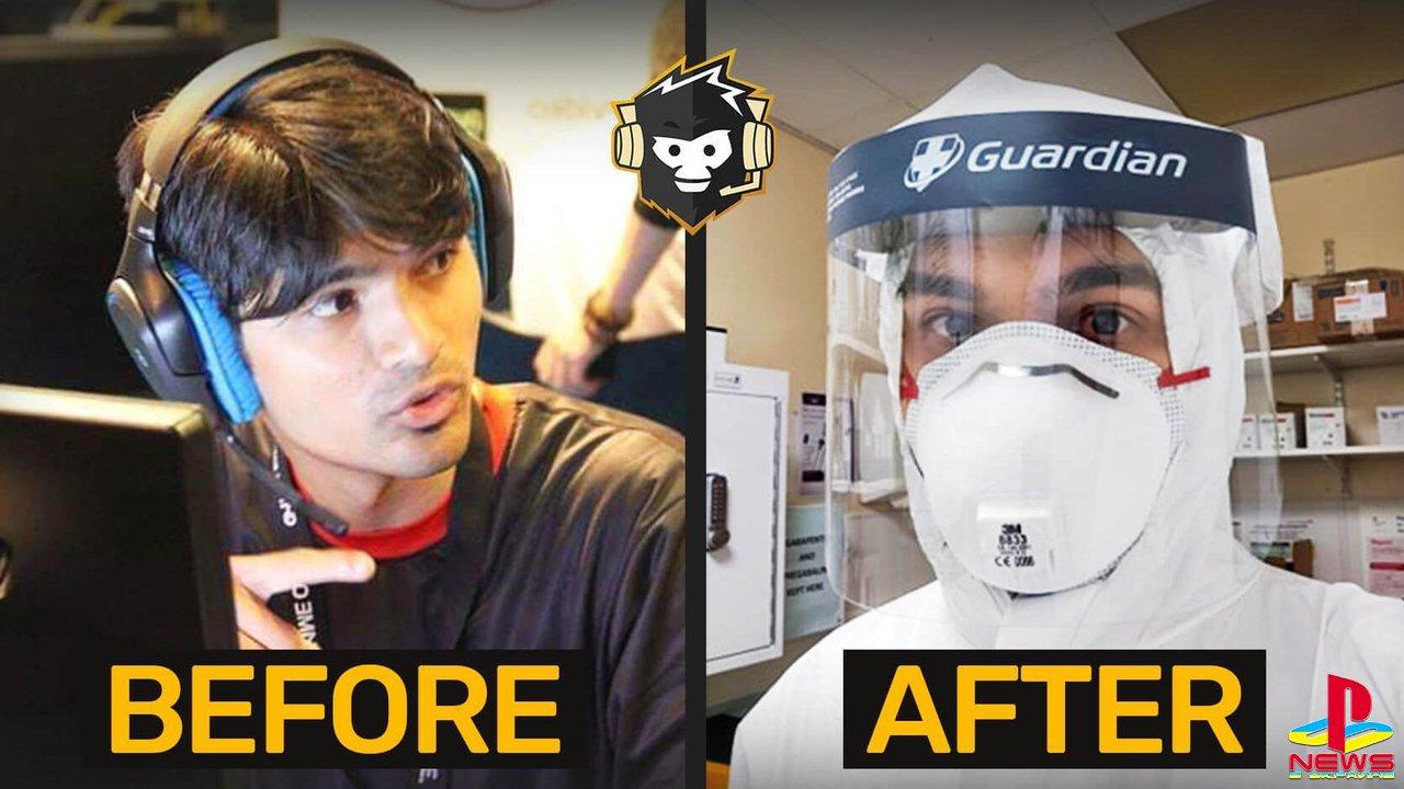 Бывший про-игрок в CS:GO стал врачом и борется с коронавирусом