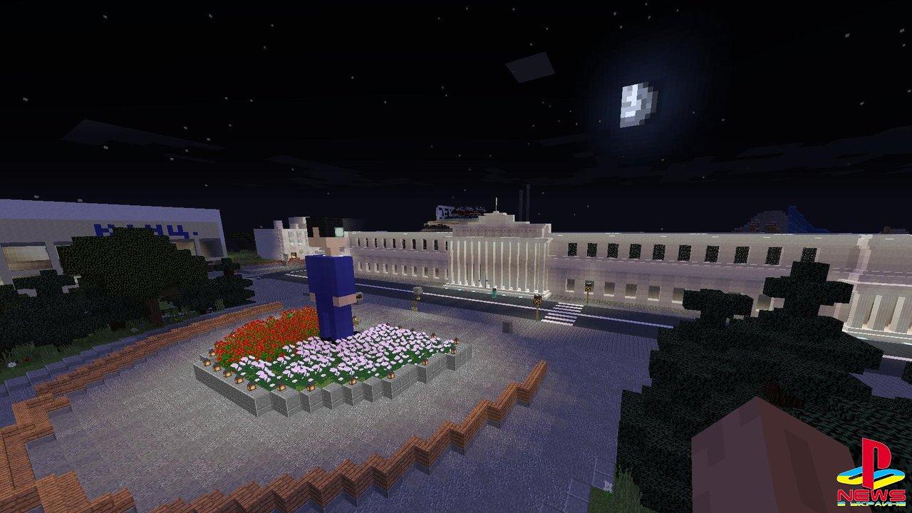 Студенты на карантине перенесли свой вуз в Minecraft