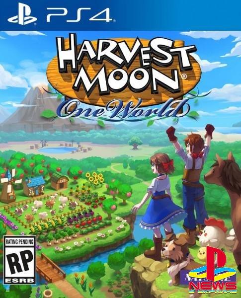 Симулятор фермы Harvest Moon: One World также появится на PlayStation 4