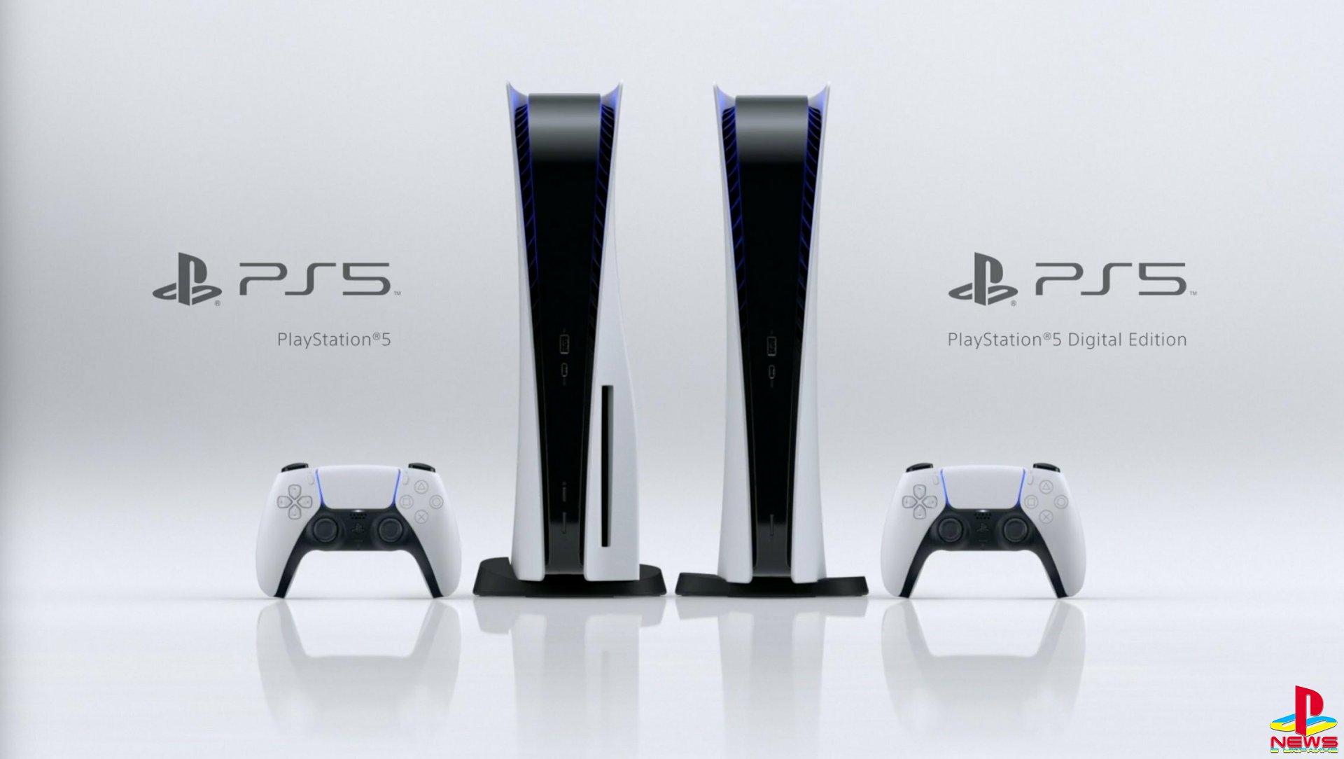 Sony показала финальный дизайн PlayStation 5