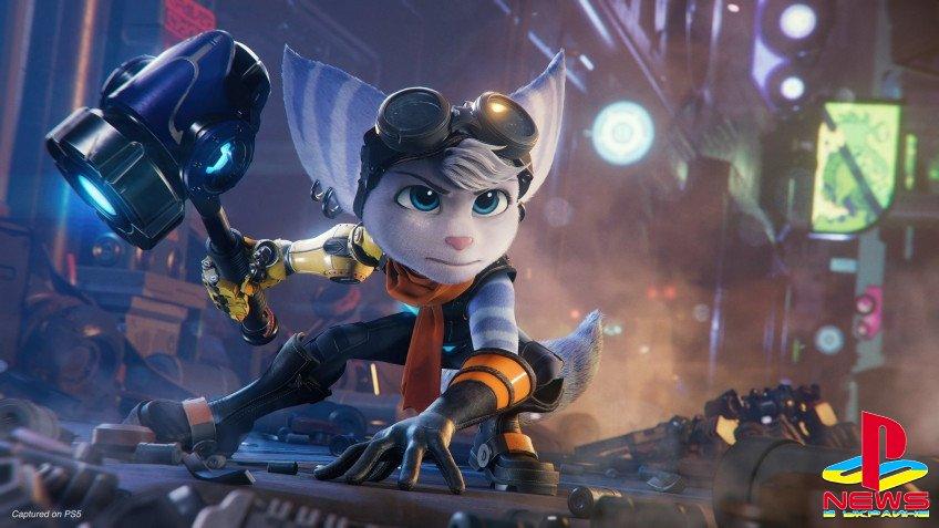 Девушка-ломбакс будет играбельным персонажем в Ratchet & Clank: Rift Apart