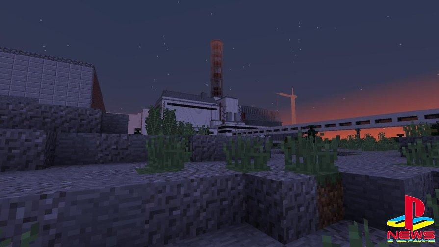 В Minecraft энтузиаст начал строить ЧАЭС и Припять