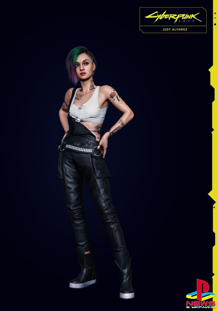 Знакомимся с персонажами Cyberpunk 2077 – Джуди Альварез и Эвелин Паркер