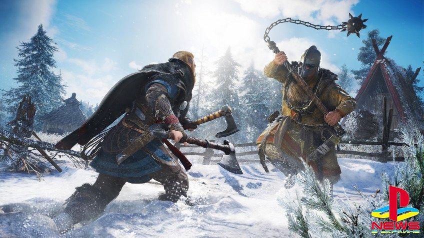 Официально: Assassin's Creed Valhalla выйдет 17 ноября