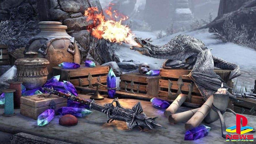 В The Elder Scrolls Online раздают бесплатного питомца и другие бонусы