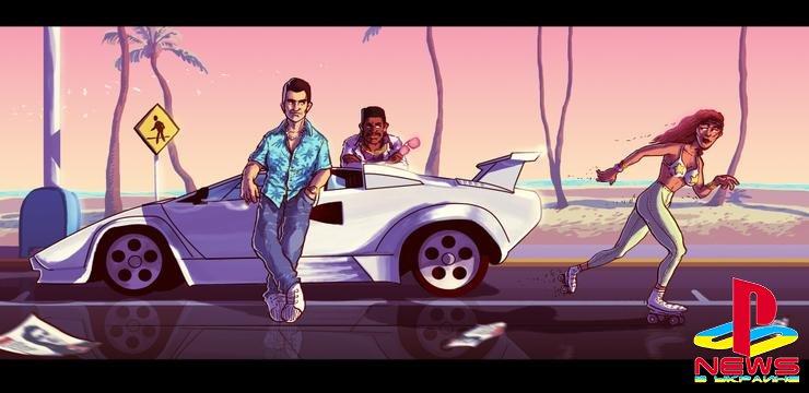 Take-Two зарегистрировала домен GTA Vice City Online