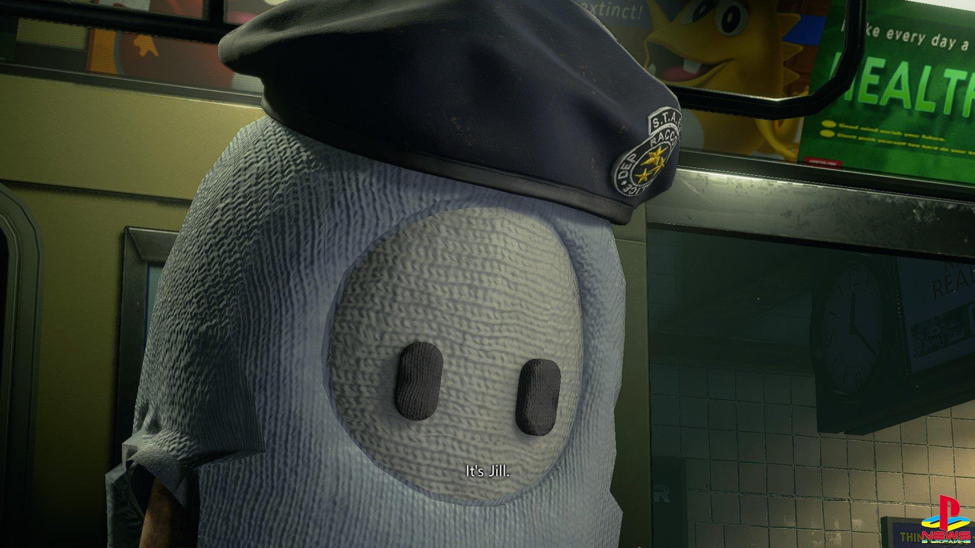 Моддер добавил «мармеладок» из Fall Guys в Resident Evil 3 Remake
