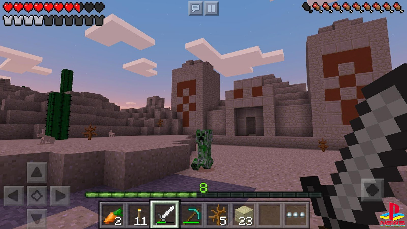 Версия Minecraft Pocket Edition 1.1.5
