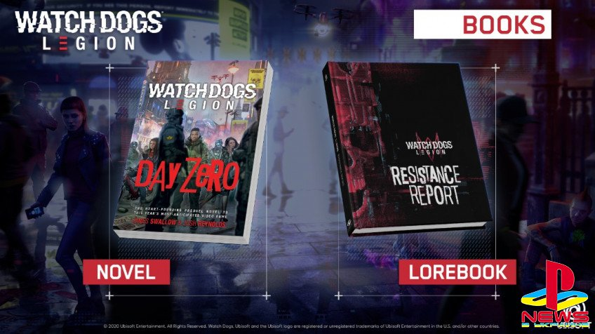 Watch Dogs: Legion получит роман-приквел и книгу о мире