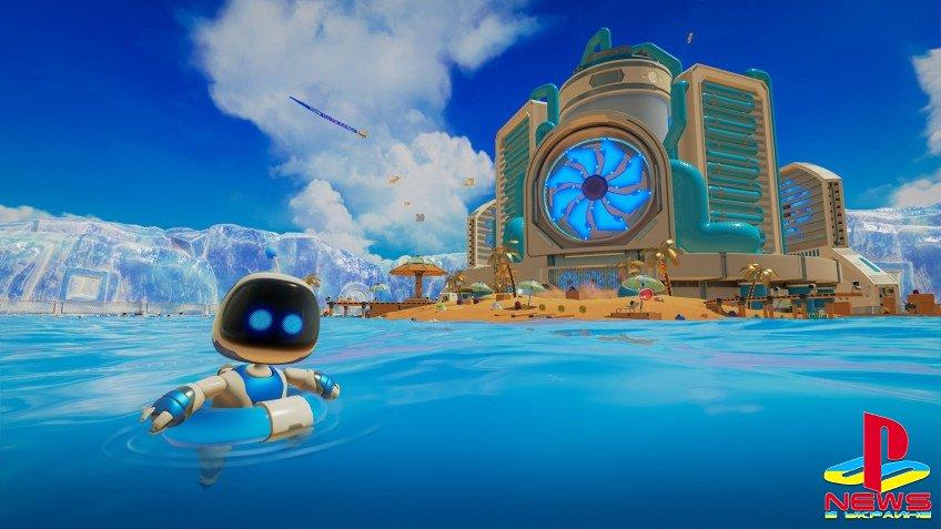 Astro's Playroom: на прохождение установленной на PS5  ...