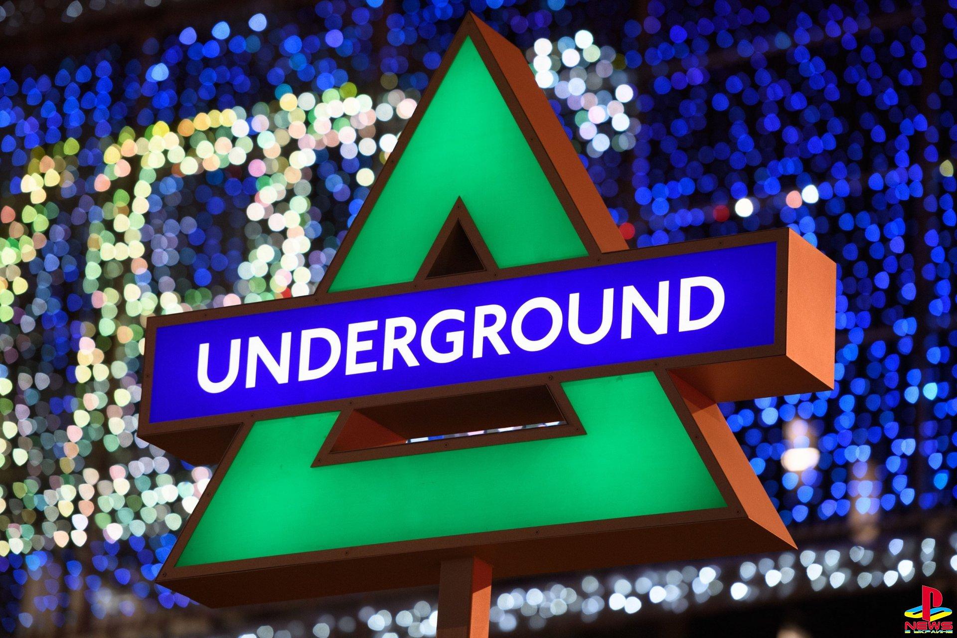 Лондонское метро украсили в честь выхода PlayStation 5