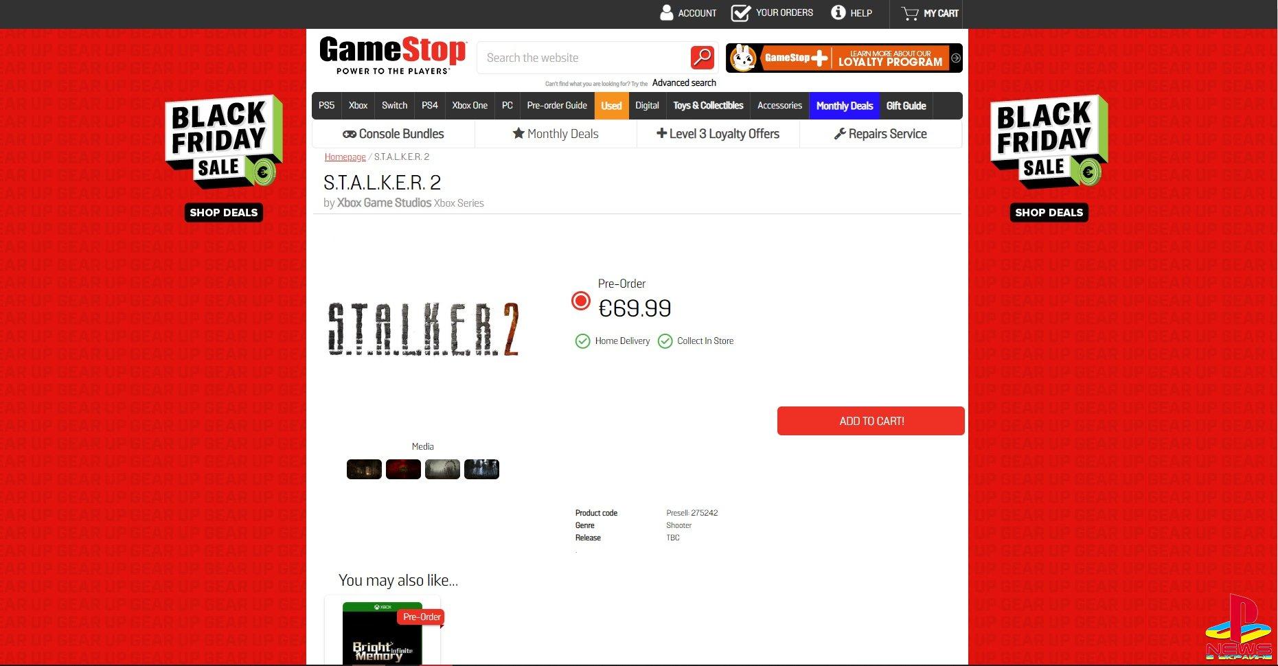 Популярный магазин открыл «предзаказ» S.T.A.L.K.E.R. 2