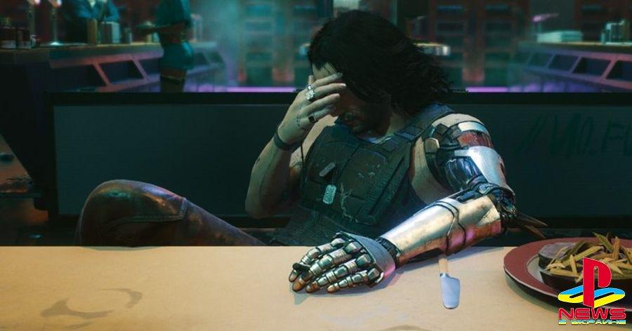Cyberpunk 2077 на PlayStation 4 завершило на удивление много игроков