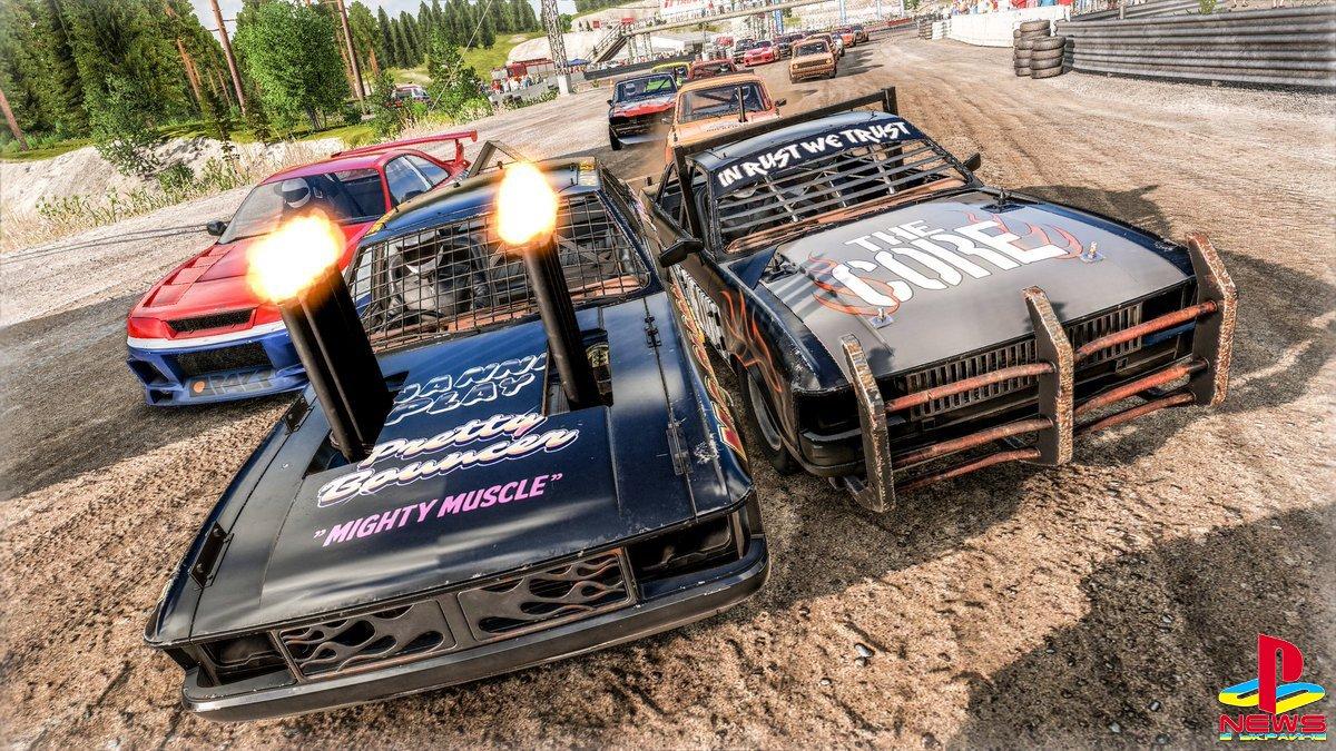 Компания THQ Nordic анонсировала улучшенную версию гоночной игры Wreckfest для PlayStation 5