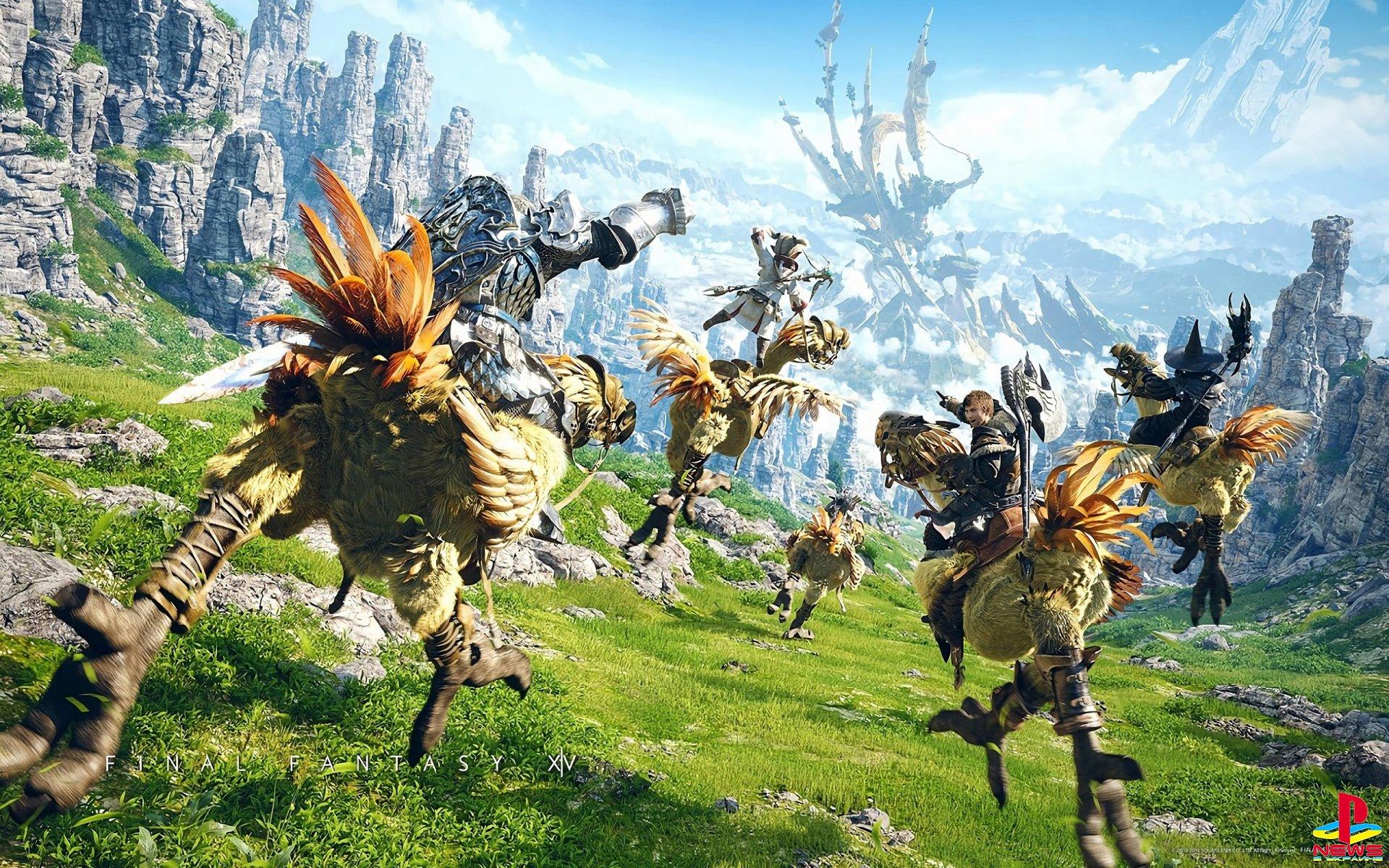 Компания Square Enix сообщила, что ролевая игра Final Fantasy XIV в версии для PlayStation 5 выйдет 25 мая
