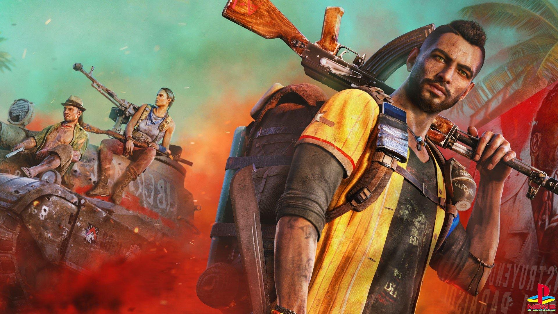 Редактор карт, полеты и поддержка DualSense: Появились новые детали шутера Far Cry 6 от Ubisoft