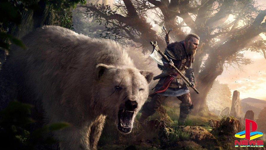Ubisoft добавит возможность регулировать уровень врагов в АС Valhalla
