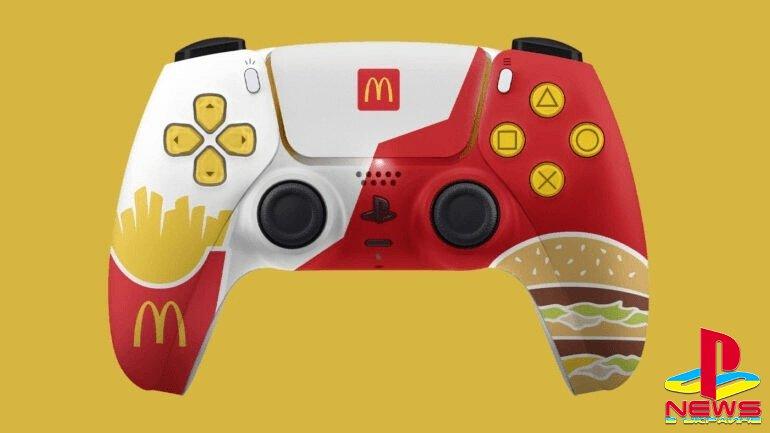 McDonald's разыграет лимитированные контроллеры для PlayStation 5
