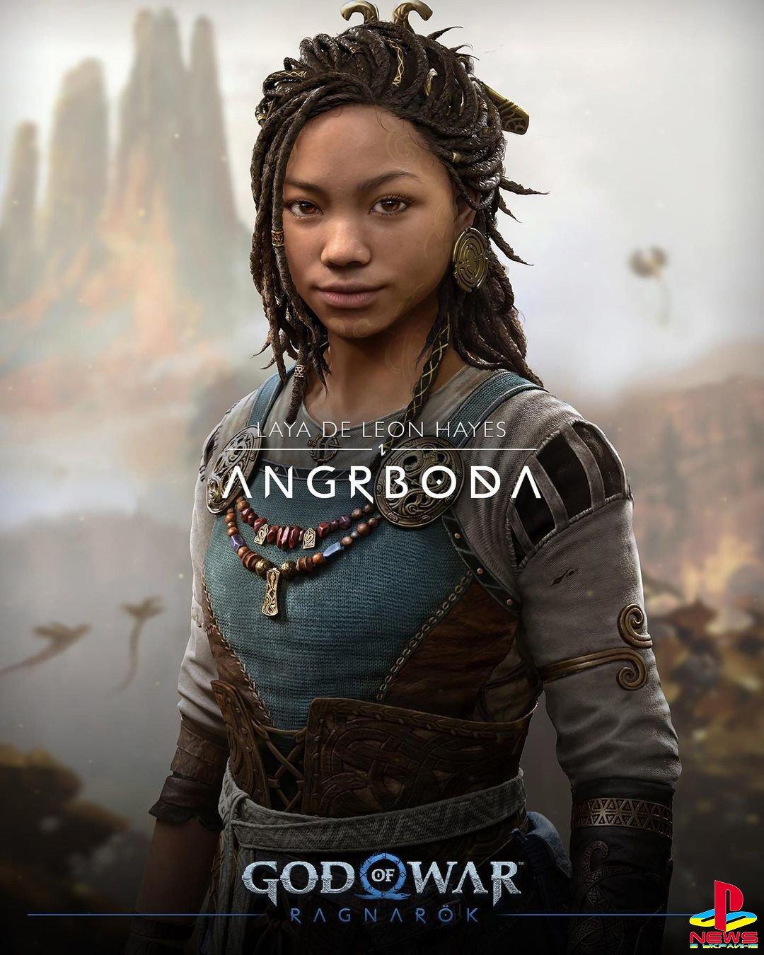 Автор God of War Ragnarok ответил на критику цвета кожи Ангрбоды