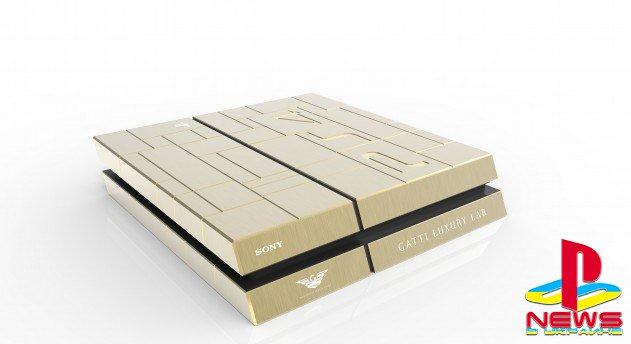 Итальянцы смастерили PlayStation 4 и Xbox One из золота