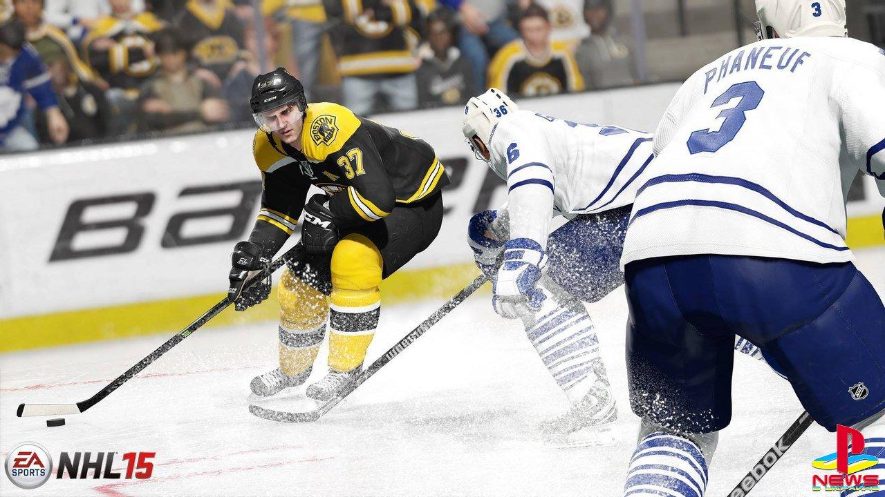 NHL 15 - хоккейный симулятор «нового поколения» не впечатлил критиков