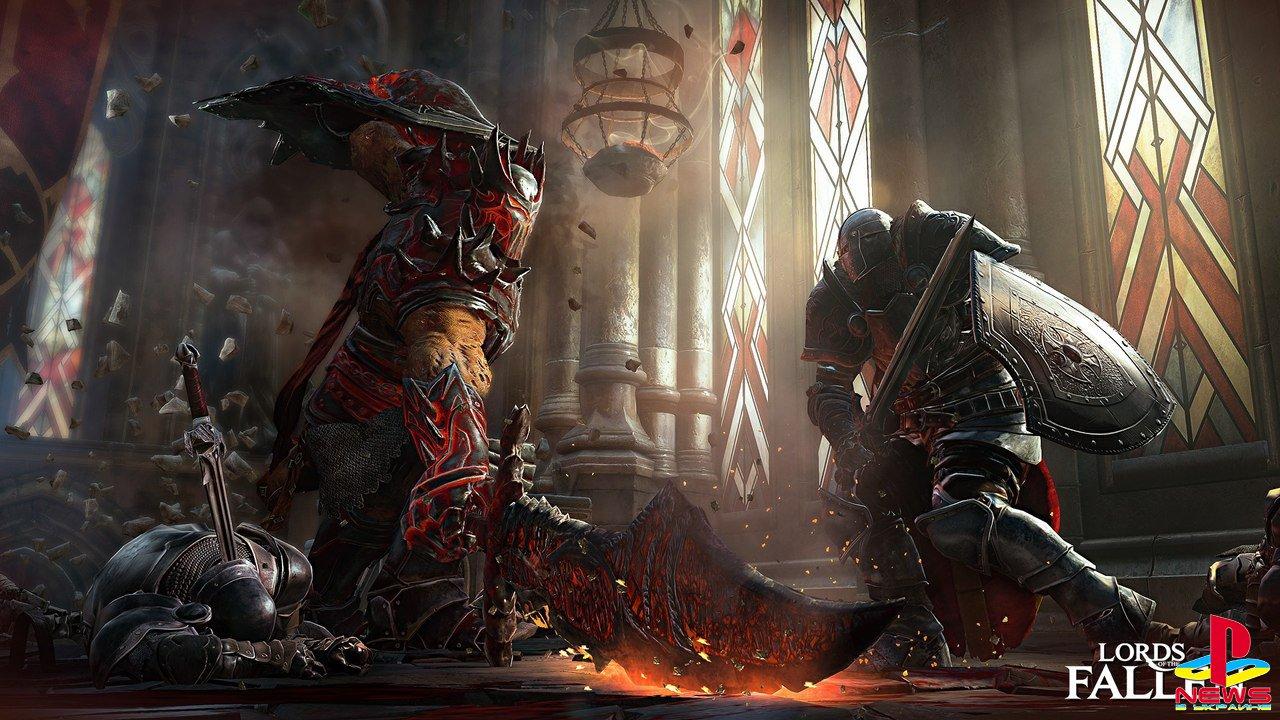 «Бука» выпустит Lords of the Fallen в России с русскими субтитрами