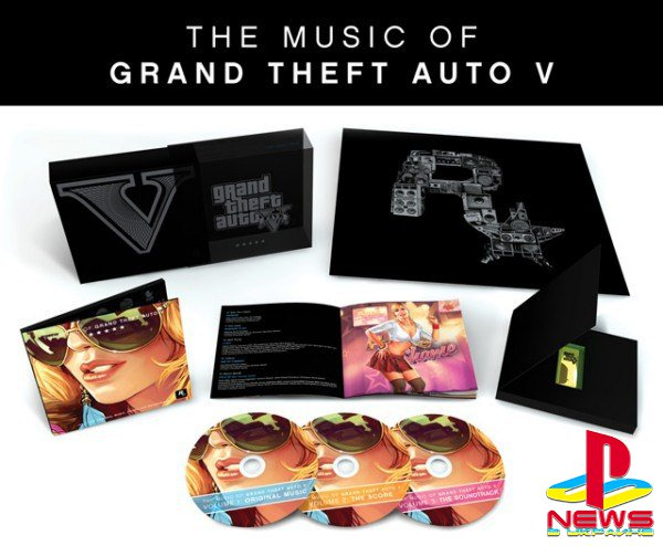 Сборник The Music of Grand Theft Auto V: Limited Edition - на винилах и CD