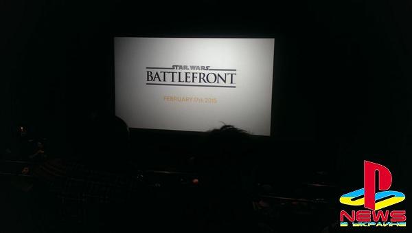 У DICE готов некий ролик по Star Wars: Battlefront