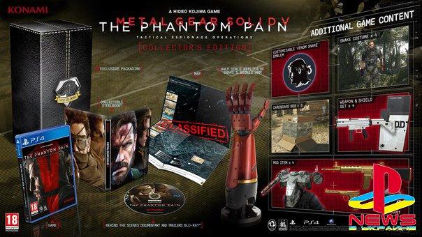MGS 5: Tha Phantom Pain - подробности коллекционных и простых изданий: