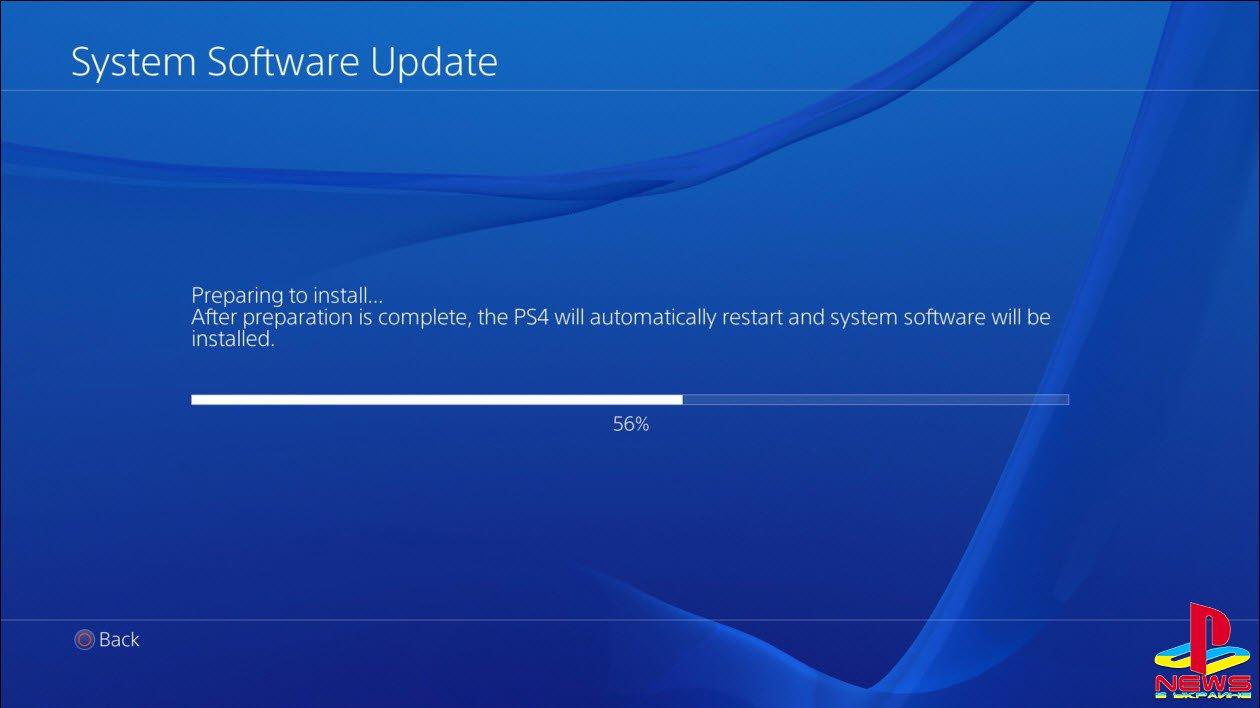 Подробности обновления PS4 2.50