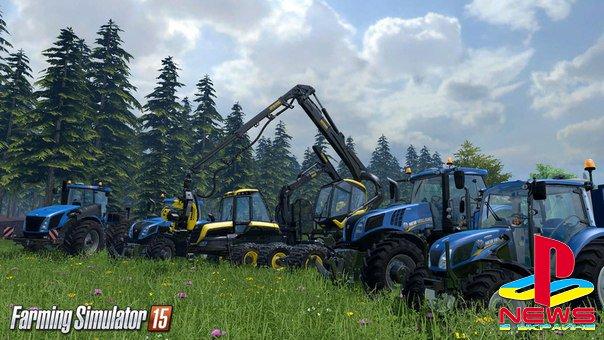 Farming Simulator 15 появится на консолях в мае