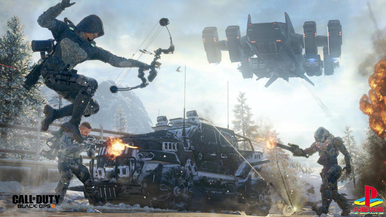 Авторы Black Ops 3 объяснили, почему мы вряд ли когда-нибудь увидим Call of Duty в космосе