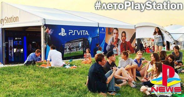 PlayStation примет участие в празднике спорта Moscow City Games 2015