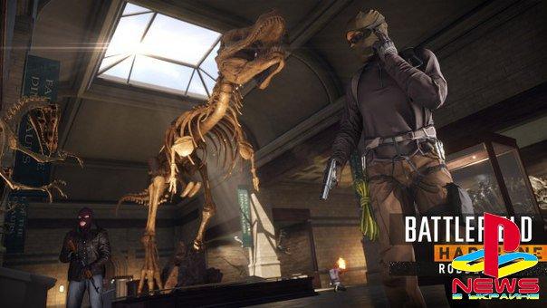 Battlefield: Hardline - Robbery DLC выйдет 16 сентября