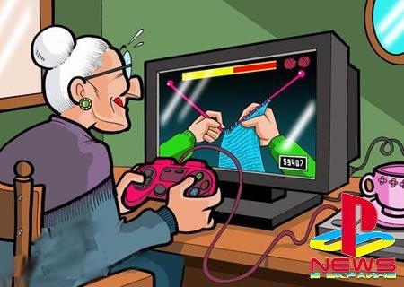 79-летняя бабушка открыла игровой канал на YouTube