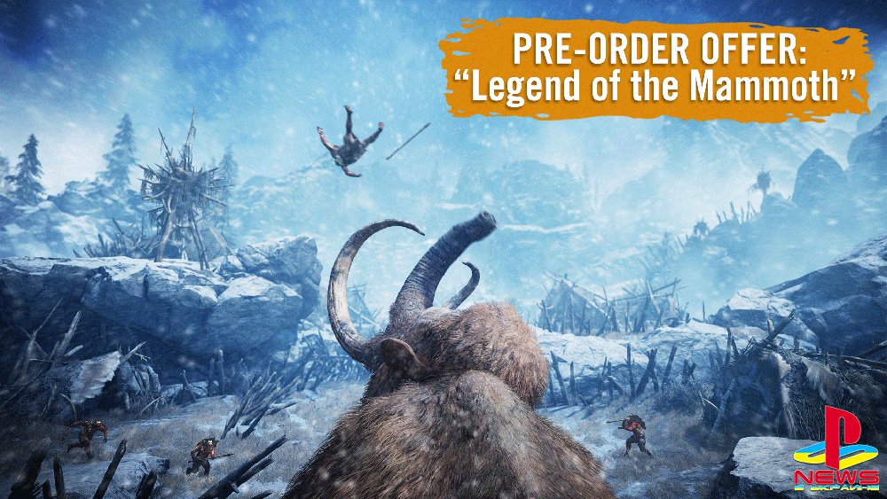 Legend of the Mammoth — первое DLC для Far Cry Primal