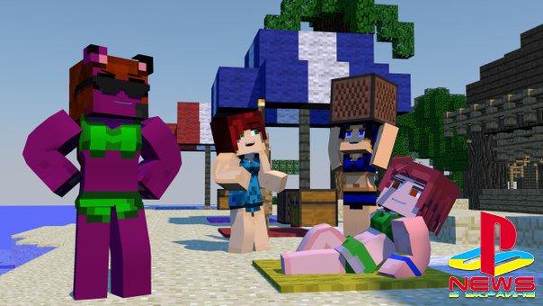 Женщины полюбили Minecraft