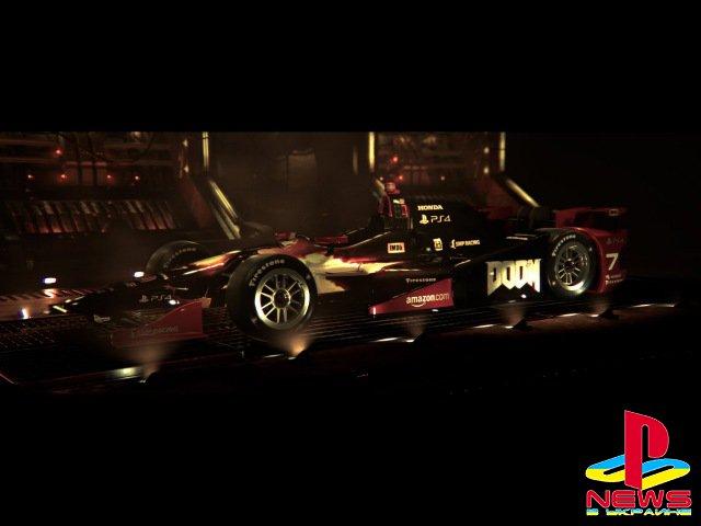 Михаил Алёшин проедет Indianapolis 500 на машине в раcцветке Doom