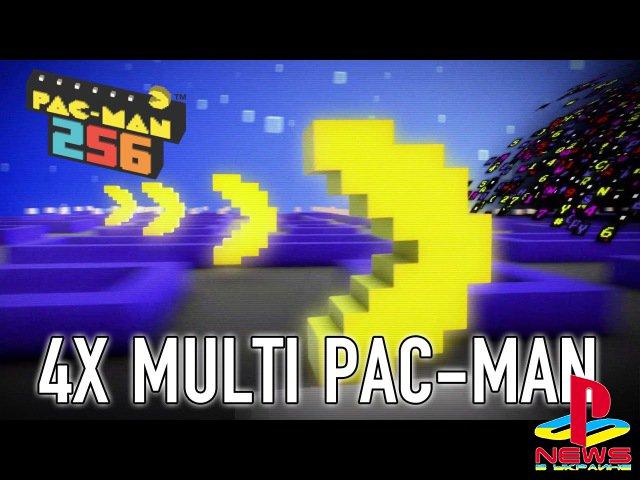 Pac-Man 256 выйдет на РС, PS4 и Xbox One 21 июня