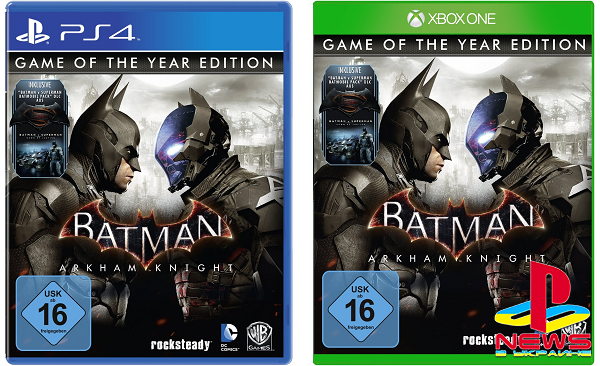 Batman: Arkham Knight - этим летом выйдет GOTY-издание игры, представлен бокс-арт