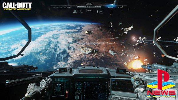 Разработчики Infinite Warfare пояснили, почему в космосе слышны взрывы