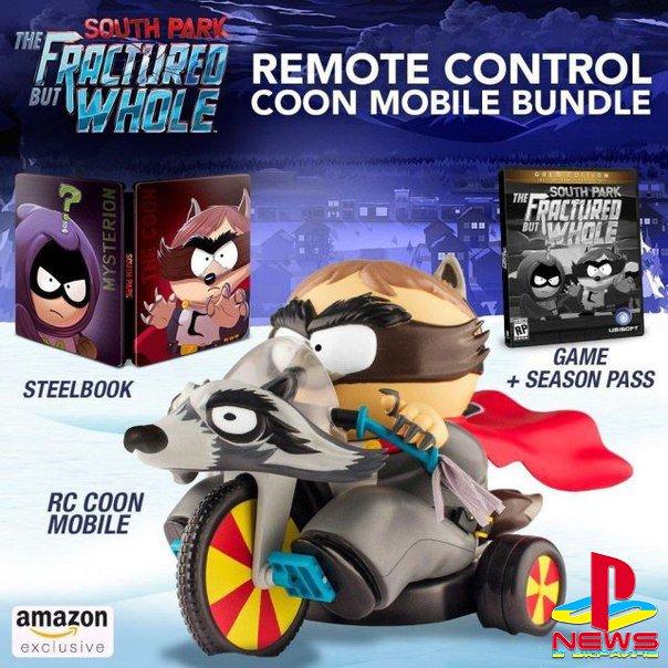 Покупатели коллекционного издания South Park: The Fractured but Whole получат радиоуправляемую версию «енотомобиля»