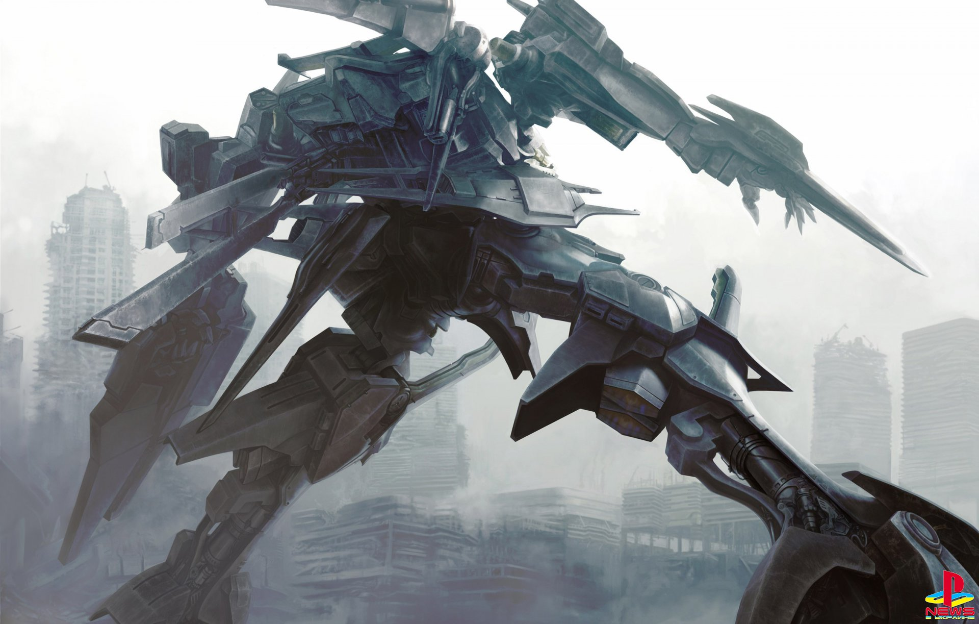 Авторы Dark Souls работают над Armored Core